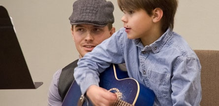 Guitar Lessons Children