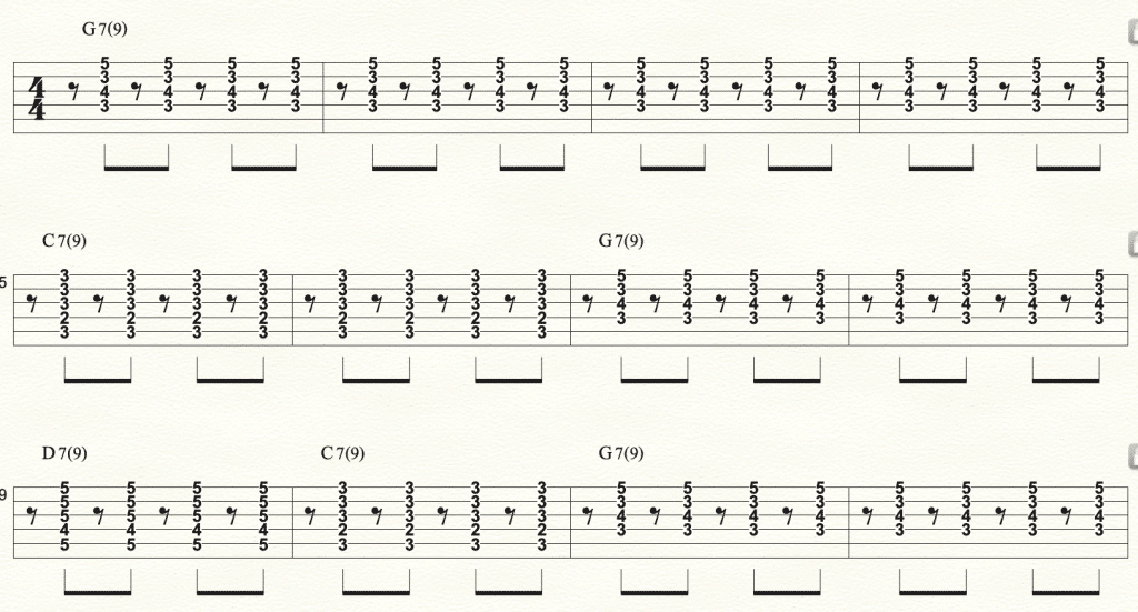 Blues Rhythm Guitar Lesson